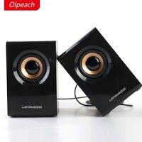 2017 Satış Sınırlı Plastik Mp3 Ahşap Olpeach V1000 Kablolu Hoparlör Dizüstü Taşınabilir Hoparlörler 2.0 Düşük Cannon Hd Müzik Ahşap Speake