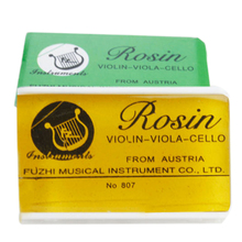 High Quality Mini Bow Rosin Colophony Pitch Friction increasing Resin for Violin Viola Cello Bowed font