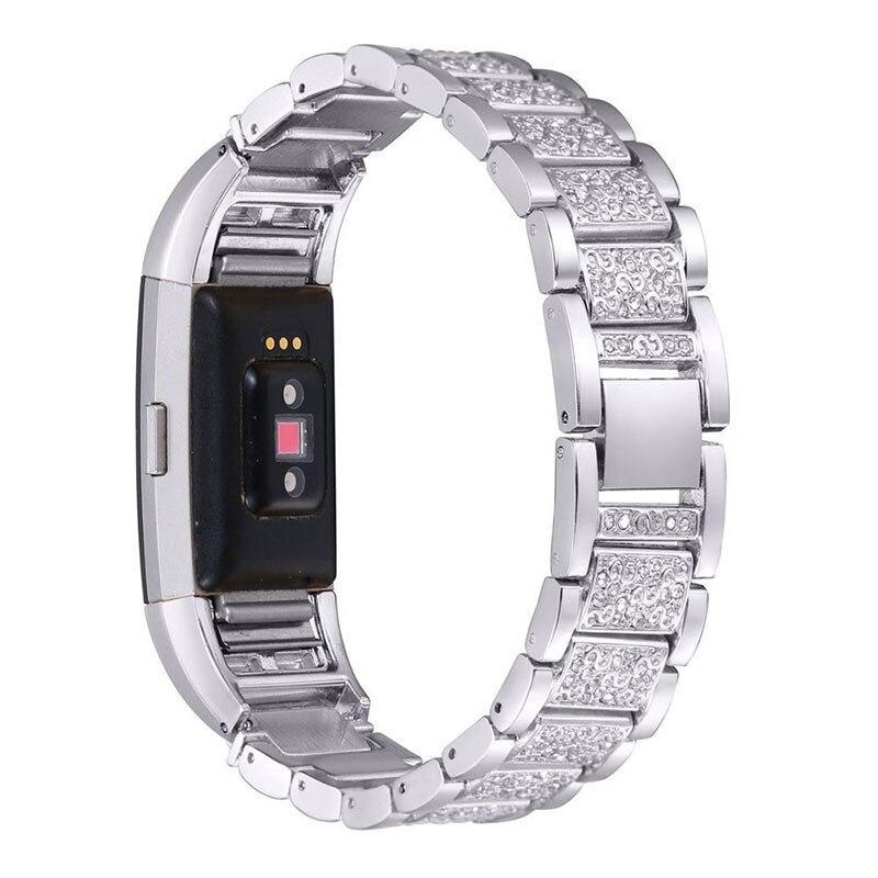 Moda Cristal de Diamante Relógio Faixa de