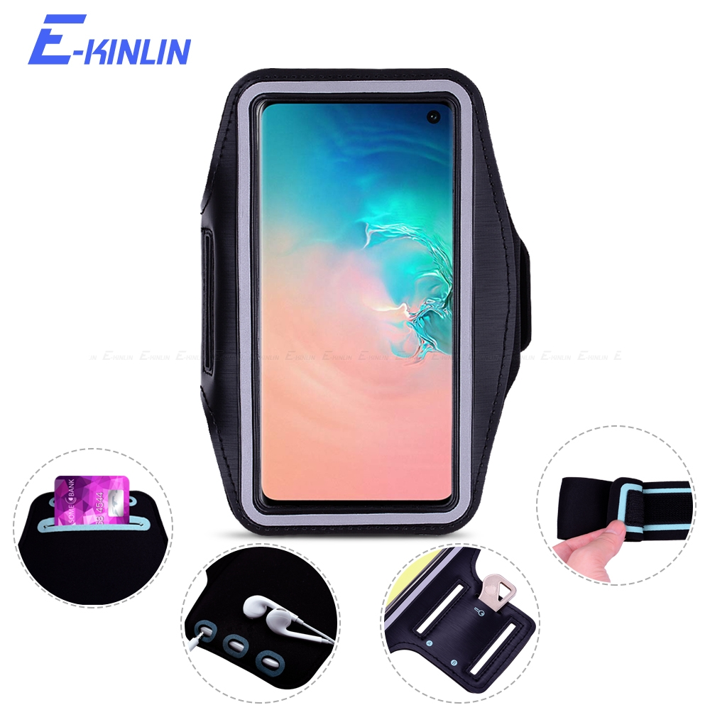 Armbands 100pcs Armband Case Sport Running Cases Exercise Key Holder Water Resistant For Iphone X 6 7 8 Plus Lg G6 G5 Galaxy S8 S7 S6 Mobile Phone Accessories