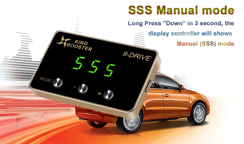 SSS car electronic throttle controller 8D
