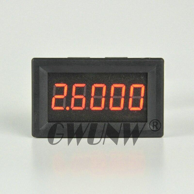 GWUNW  DC 0-5.0000A(5A) Digital Ammeter 5 Bit 0.36 Inch