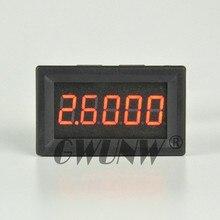 Gwunw dc 0-5.0000a (5a) amperímetro digital 5 bit 0.36 polegada