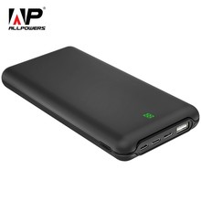 ALLPOWERS 20000mAh Power Bank External Battery Fast Type-C Charger with 3 Input & Dual Output LCD Display for Mobile Phones(China)