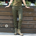 Freearmy Brand women casual pants Casual Pockets Skinny Pencil sexy pants slim fit pants army green leggingsTrousers GK-9508A