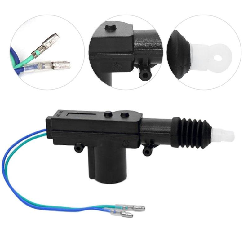 Image 3 - VODOOL Car Central Door Lock Actuator Motor 12V Car Auto Locking System Actuator Single Gun Type Central Door Lock Motor Kit-in Tire Pressure Alarm from Automobiles & Motorcycles