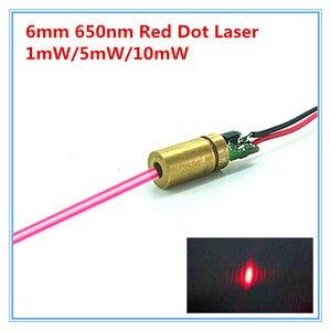 6mm 650nm 1mw 5mw 10mw Red Dot