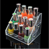 3 Tier Acrylic Make Up Storage Stand Small Beautiful Beauty Case