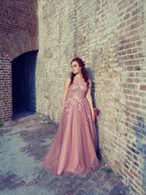 Colorful Charming Sexy Sleeveless Tulle A Line Prom Dresses