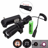 10w 940nm IR LED Zoomable Night Vision Infrared Radiation Flashlight Torch To be used with Night Vision Device