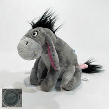 Plush-Toy Donkey Stuffed Animal Eeyore Birthday-Gift Soft for 20cm Gray Mini