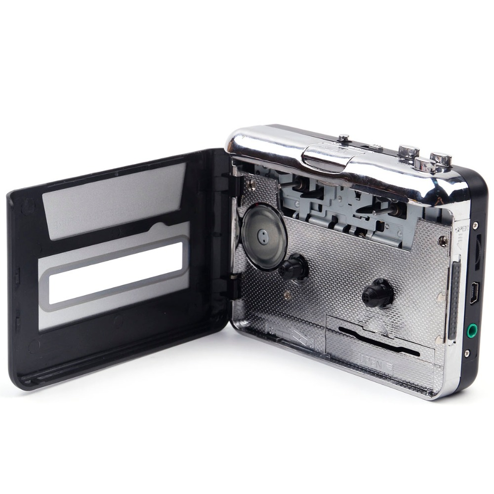 cassette record player Portable USB Cassette Player Capture Cassette Recorder Converter Digital Audio Music Player DropShipping 2