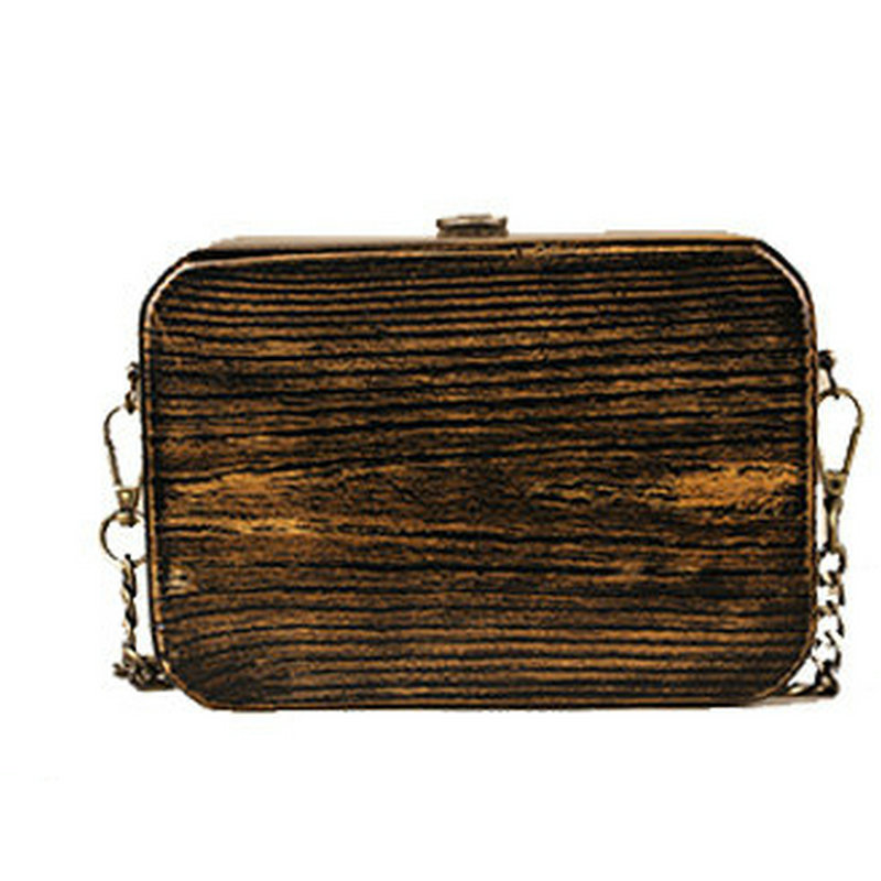 7982251441 Trong original handmade vintage treasure box wood bag arbor wooden chain  messenger bag horizontal vertical style clutch-in Shoulder Bags from  Luggage   Bags ...