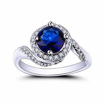 טבעת כסף 925 לנישואין דגם 4106