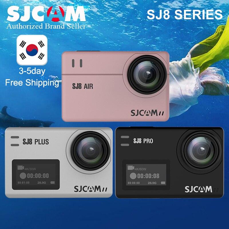 Original SJCAM SJ8 stabilisateur Action caméras 4 K 1200 mAh étanche Sport Action Cam WiFi caméra vidéo à distance HD DVR voiture caméra