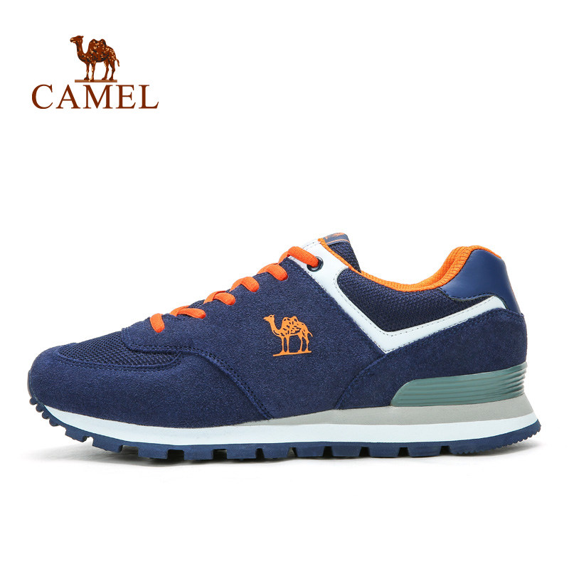 Camel Men's and Women's Outdoor Laces  Running Shoes Lover's Sport Shoes camel shoes 2016 women outdoor running shoes new design sport shoes a61397620