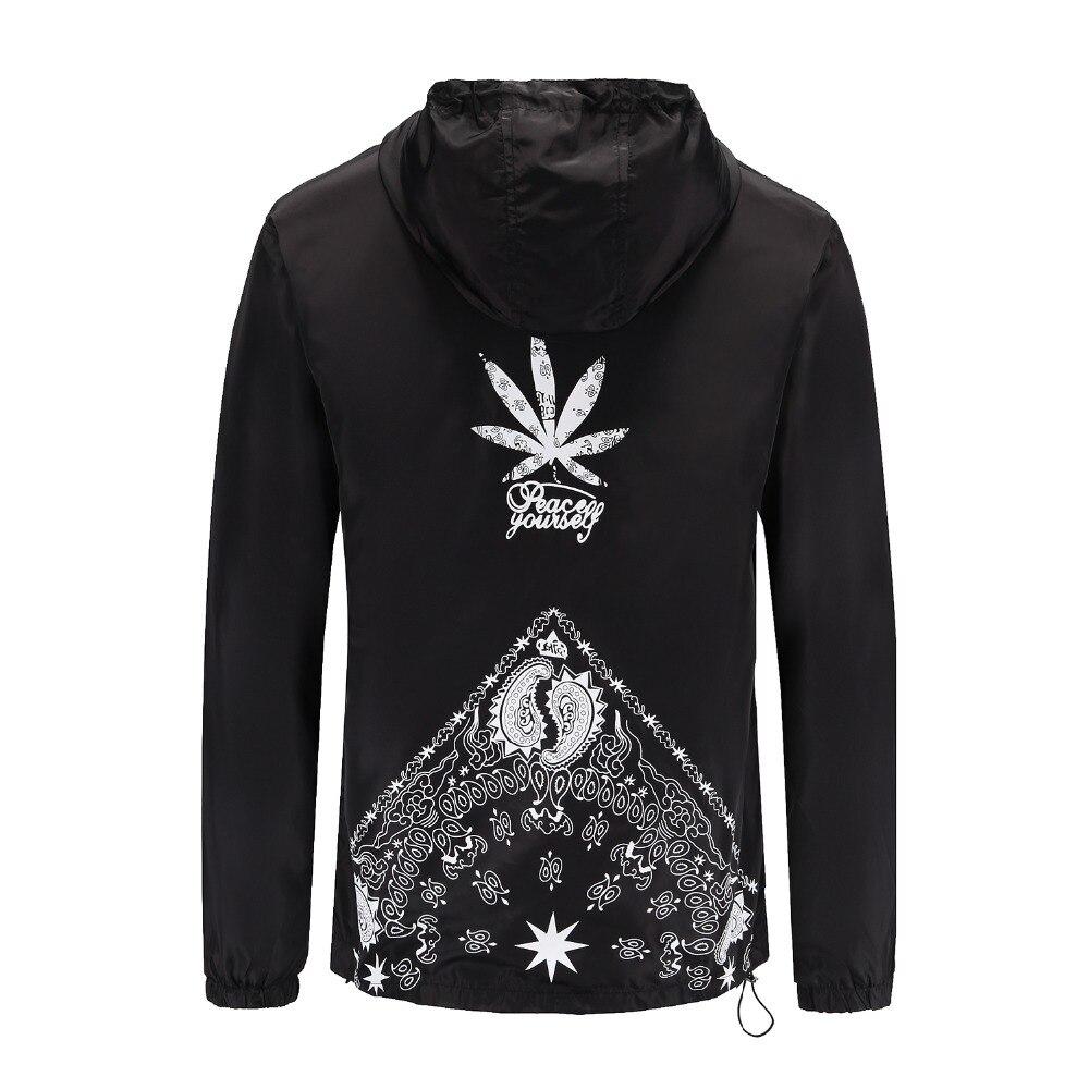 UNS GRÖßE Neue Männer Marke Kleidung Sportswear Männer Mode Dünne Windjacke Jacke Zipper Mäntel Outwear Mit Kapuze Männer Jacke S-2XL