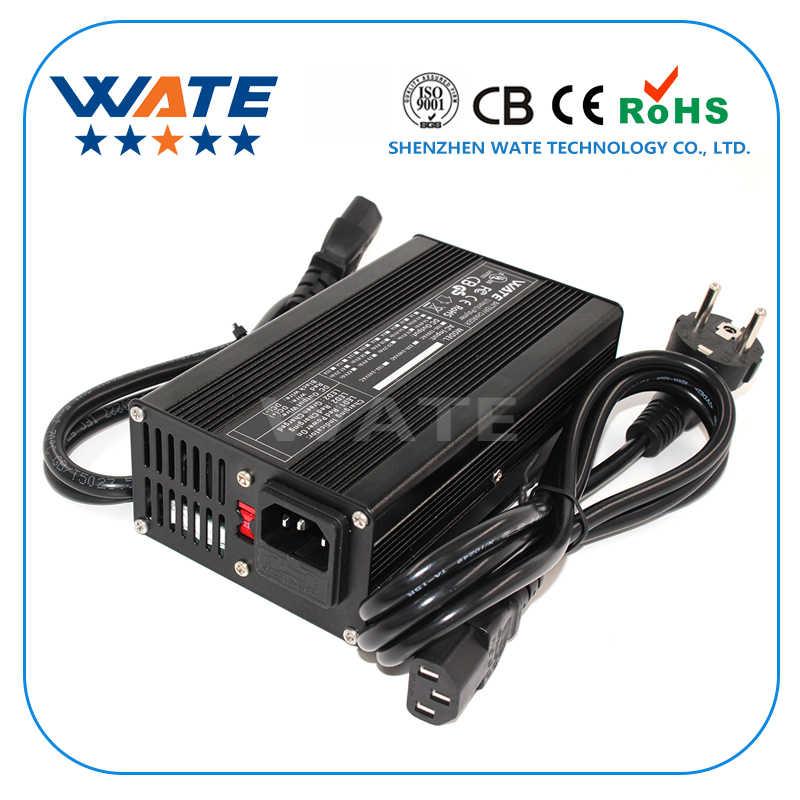 4,2 V 10A зарядное устройство 1 S 3,7 V литий-ионная батарея интеллектуальное зарядное устройство алюминиевый корпус литий-ионный аккумулятор зарядное устройство с вентилятором авто-стоп интеллектуальные инструменты