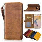 Luxury Case For Samsung Galaxy J5 Prime Flip PU Leather+Protective Silicone Cover for Samsung G570 G570F SM-G570F Case Phone