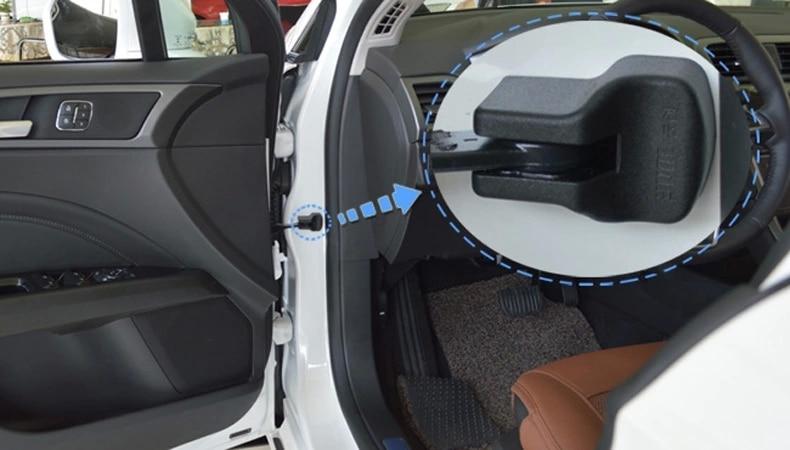 La puerta automática controla la cubierta, protector a prueba de - Accesorios de interior de coche