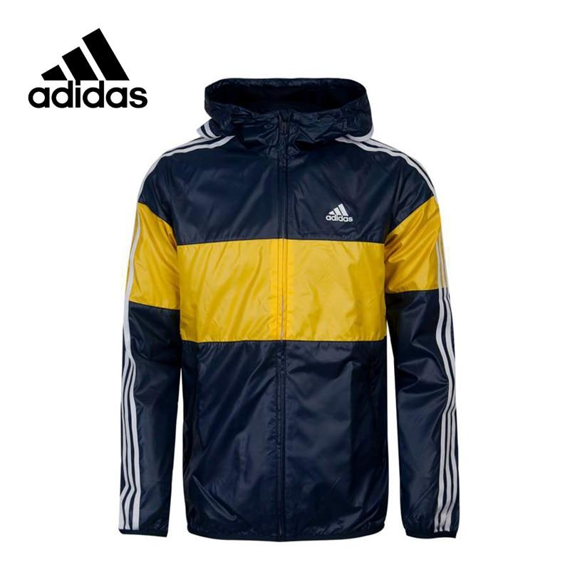 Adidas Original New Arrival WB CB 3S Performance Men's Jacket Hooded Sportswear AY3811 AY3812 original new arrival 2017 adidas performance ess wind jacket men s jacket hooded sportswear