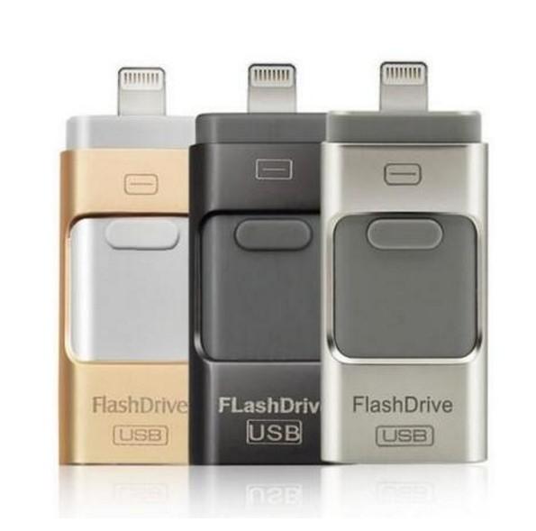 Hot para iphone 6 6 s plus 5 5S ipad pen drive memória hd vara dupla finalidade móvel otg micro usb flash drive 32 gb 64 gb 128 gb 256 gb