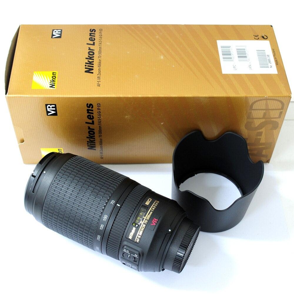 Nikon Zoom AF S 70 300mm f 4 5 5 6G IF ED VR Autofocus Lens