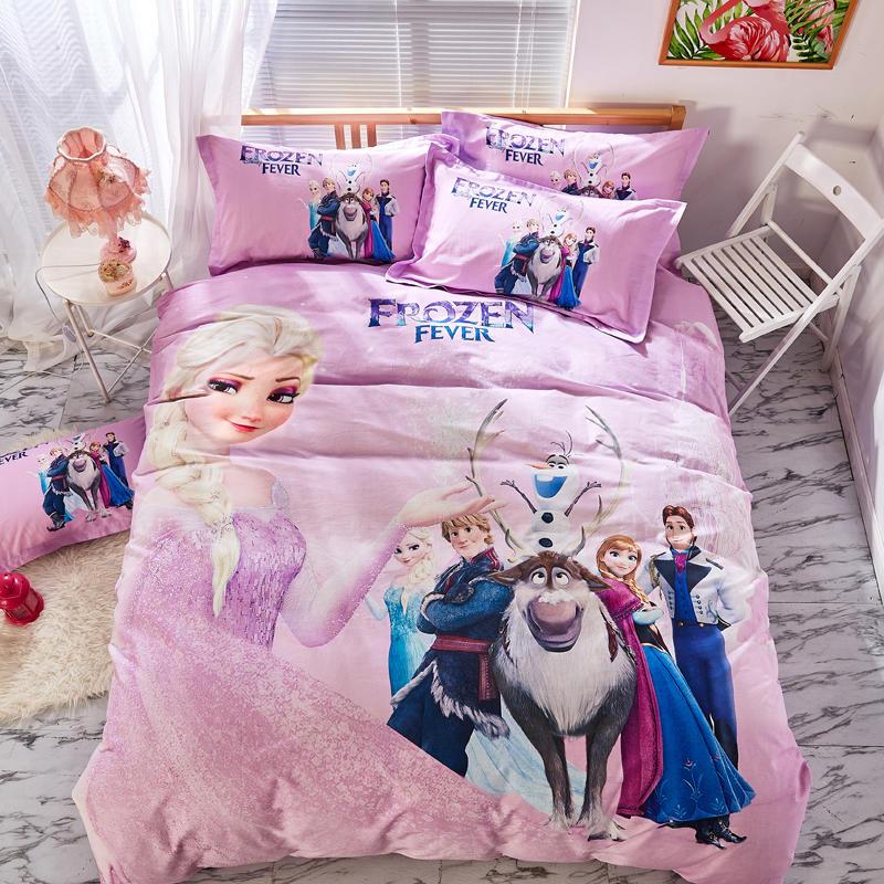 Disney Frozen Bedding Set Twin Size Bedspread Queen