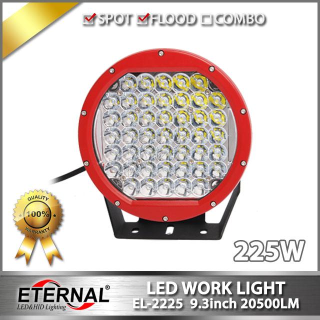 4pcs 225W driving light ARB high power round off road rubicon wrangler 4x4 powersports ATV UTV RV  led work driving lamp