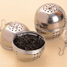 1Pcs Stainless Steel Tea Infuser Strainer Mesh Tea Filter for Tea Spoon Locking Spice Ball Drop Shipping