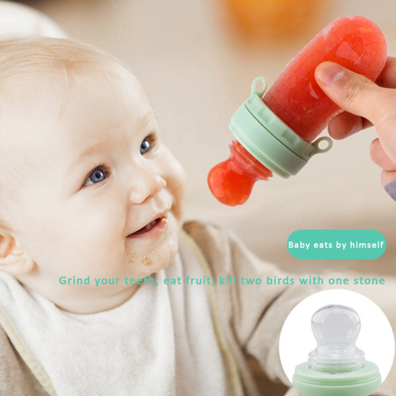 Baby Supplies Nipple Fresh Food Nibbler Safe Teat Pacifier Bottles Baby Pacifiers 30ml Feeder Kids Fruit Nipples Feeder Feeding