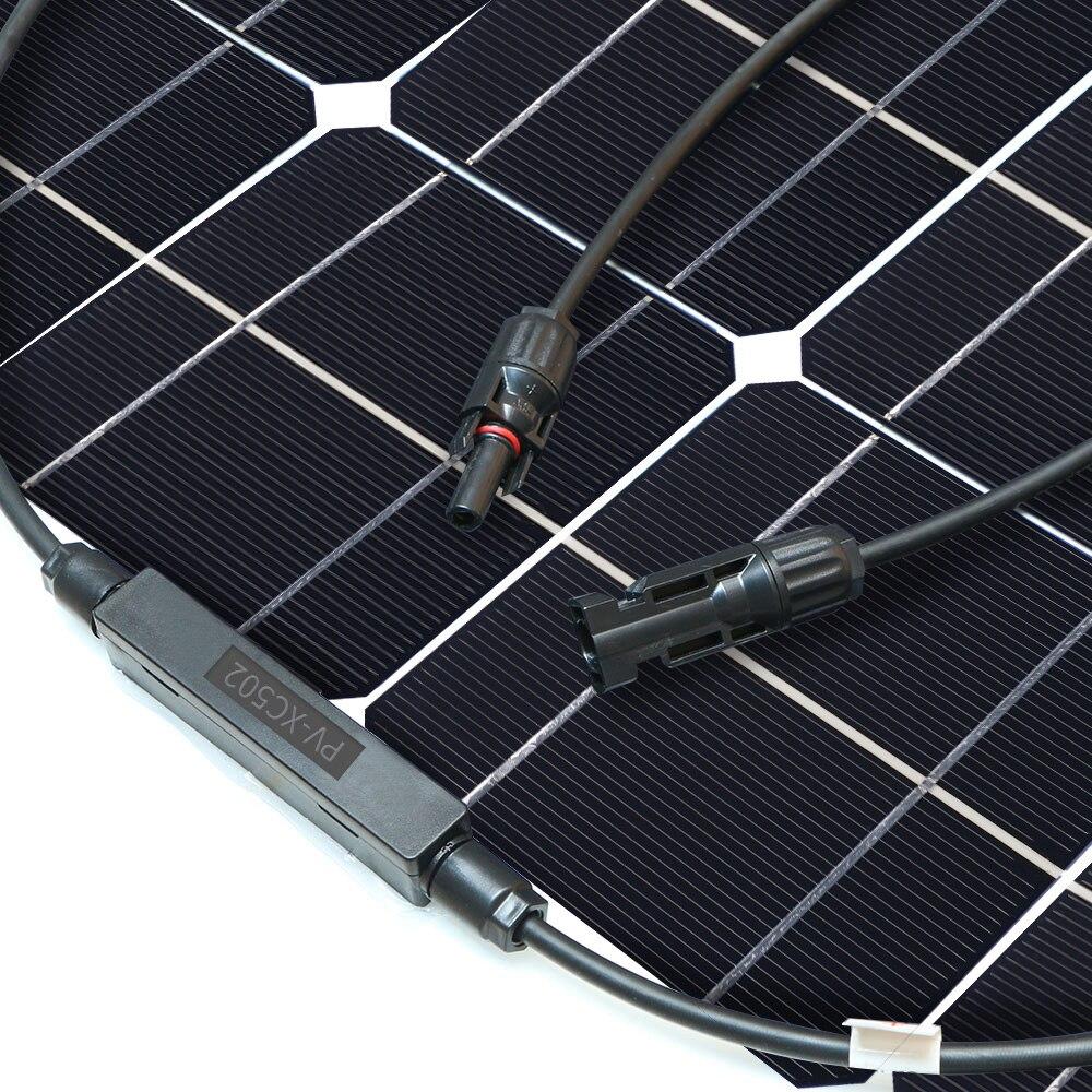 Panel solar 300w 200w 400w 12V voltios panel solar flexible monocrsytalline célula solar para coche Marina batería solar 12 v/24 v 400w - 2