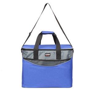 Image 5 - 34L Extra Grote Verdikking Koeltas 600D Oxford Ijs Geïsoleerde Lunch Tas Koude Opslag Zakken Verse Voedsel Picknick Container