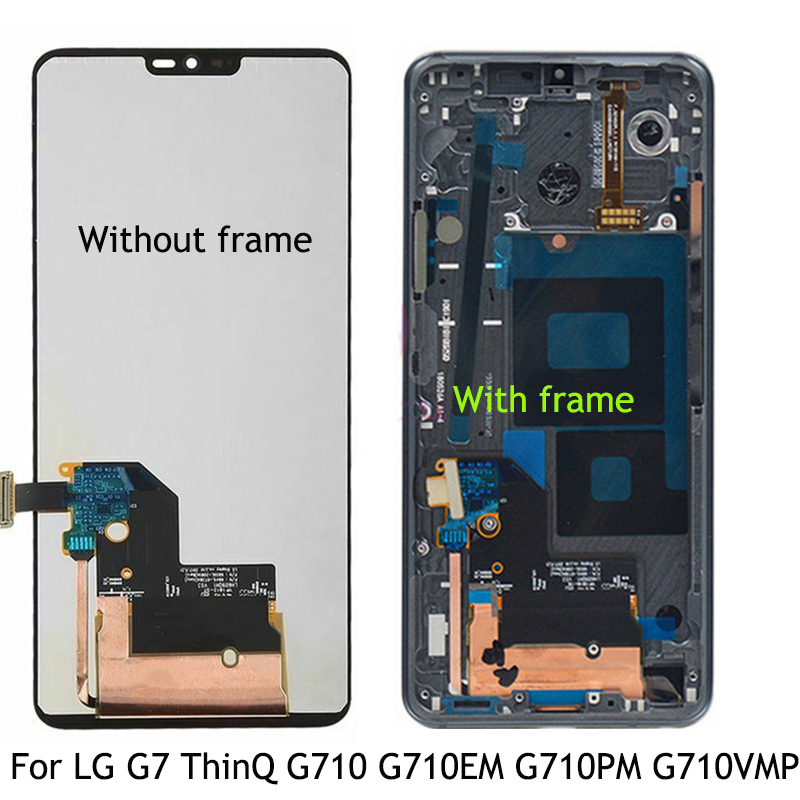 Original LCD Display For LG G7 G710 G710EM G710PM G710VMP LCD Touch Screen Assembly Glass Replacement For LG G7 thinQ LCD