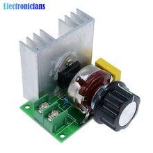 AC 220V 3800W importowane SCR tyrystor elektroniczny ściemniacz napięcie silnik regulatora prędkość temperatura krzemu przełącznik kontrolera