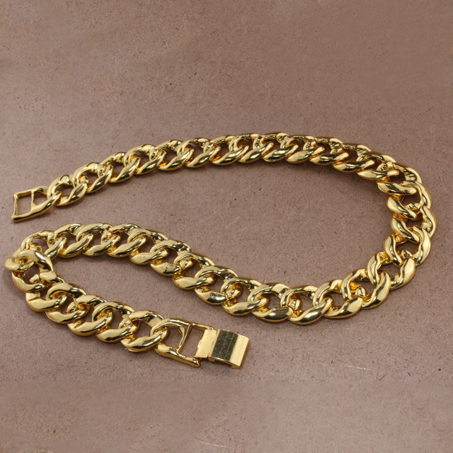 Iced Out Cuban Rhinestone Thick Necklace 6