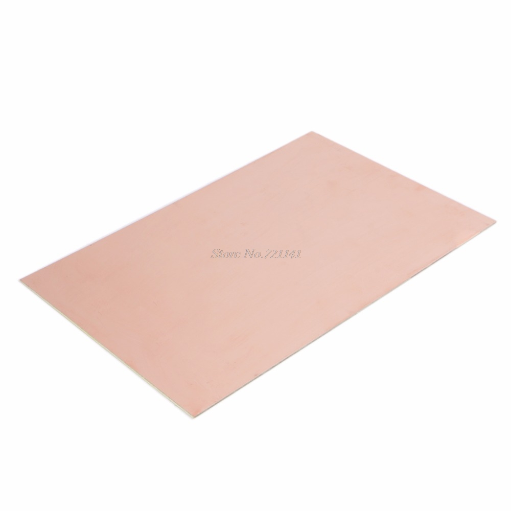 20x30cm Single Side PCB Copper Clad Laminate Board FR4 1.5MM For DIY Project