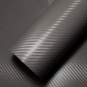 Image 4 - LuDuo 30x127 cm 3D Carbon Faser Vinyl Farbe Wrap Band Self Adhesive Auto Aufkleber Aufkleber Rolle Film Styling auto Zubehör 4 Farben