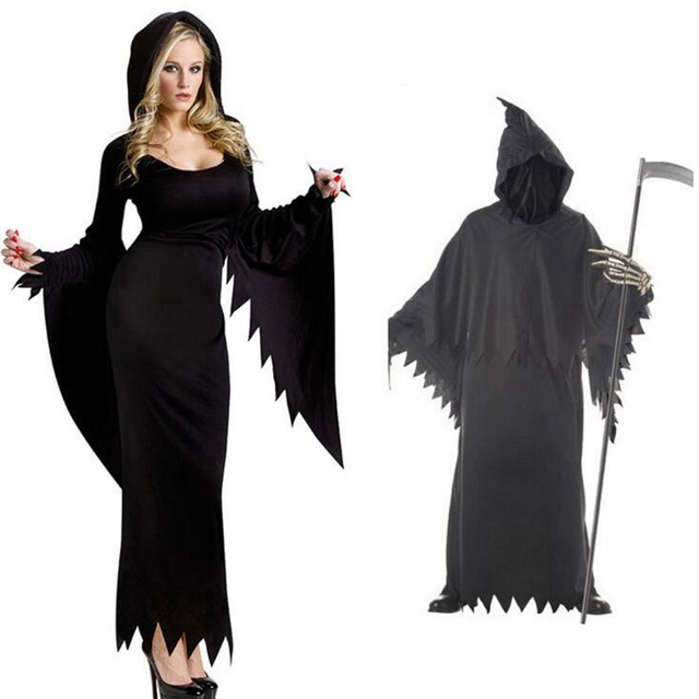 witch cloak vampire female witch cloak death cosplay halloween costume costume ball fancy ball festive party supplies - Halloween Costumes Vampire For Girls