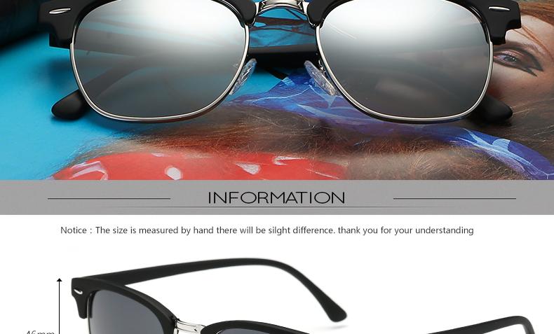 HTB1tpCmPVXXXXc3aXXXq6xXFXXXN - 2018 TOP 16 Color Lens Luxury Brand High Quality Rays Sunglasses Women Men Round Shades Ladies Aviator Sun Glasses UV400