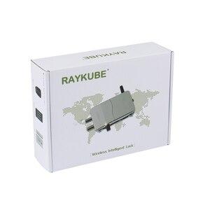 Image 5 - RAYKUBE kablosuz akıllı uzaktan kumanda kilidi anti hırsızlık kilidi görünmez kilit elektrikli kapı kilidi akıllı Warded kilidi R W39