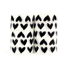 50pcs MOQ מותאם אישית הדפסת Washi קלטות יפני נייר DIY מתכנן מיסוך קלטת דבק קלטות מדבקות תווית דקורטיבי מכתבים