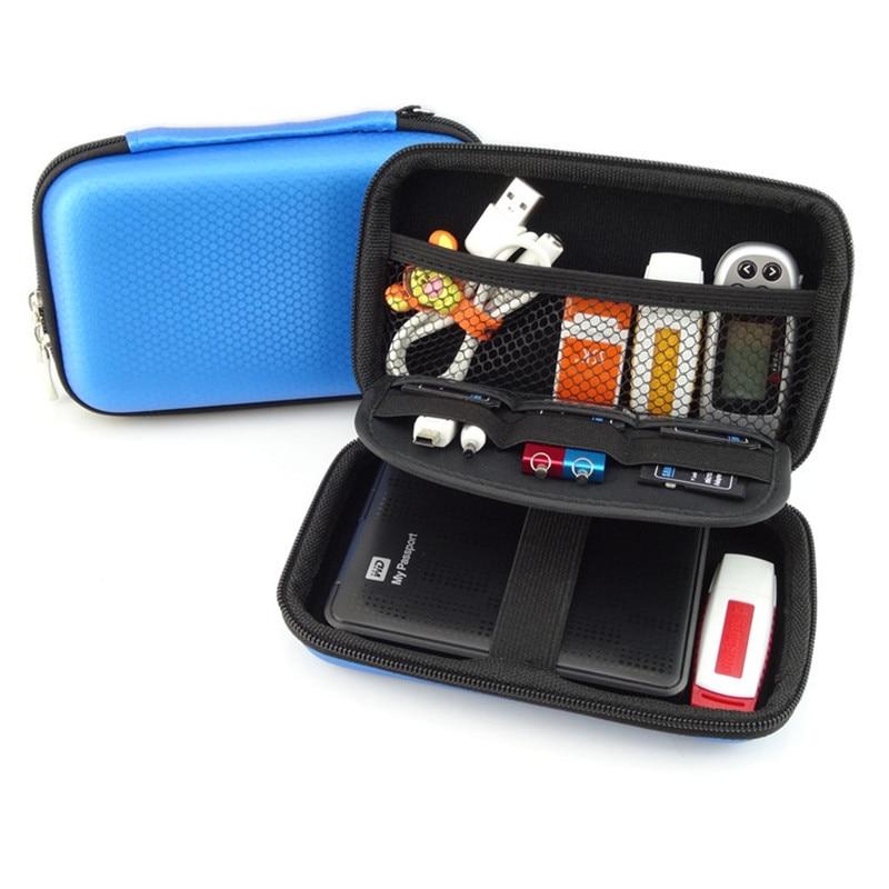 Draagbare elektronische gadgets EVA opbergtas voor HDD Power Bank USB - Home opslag en organisatie - Foto 4
