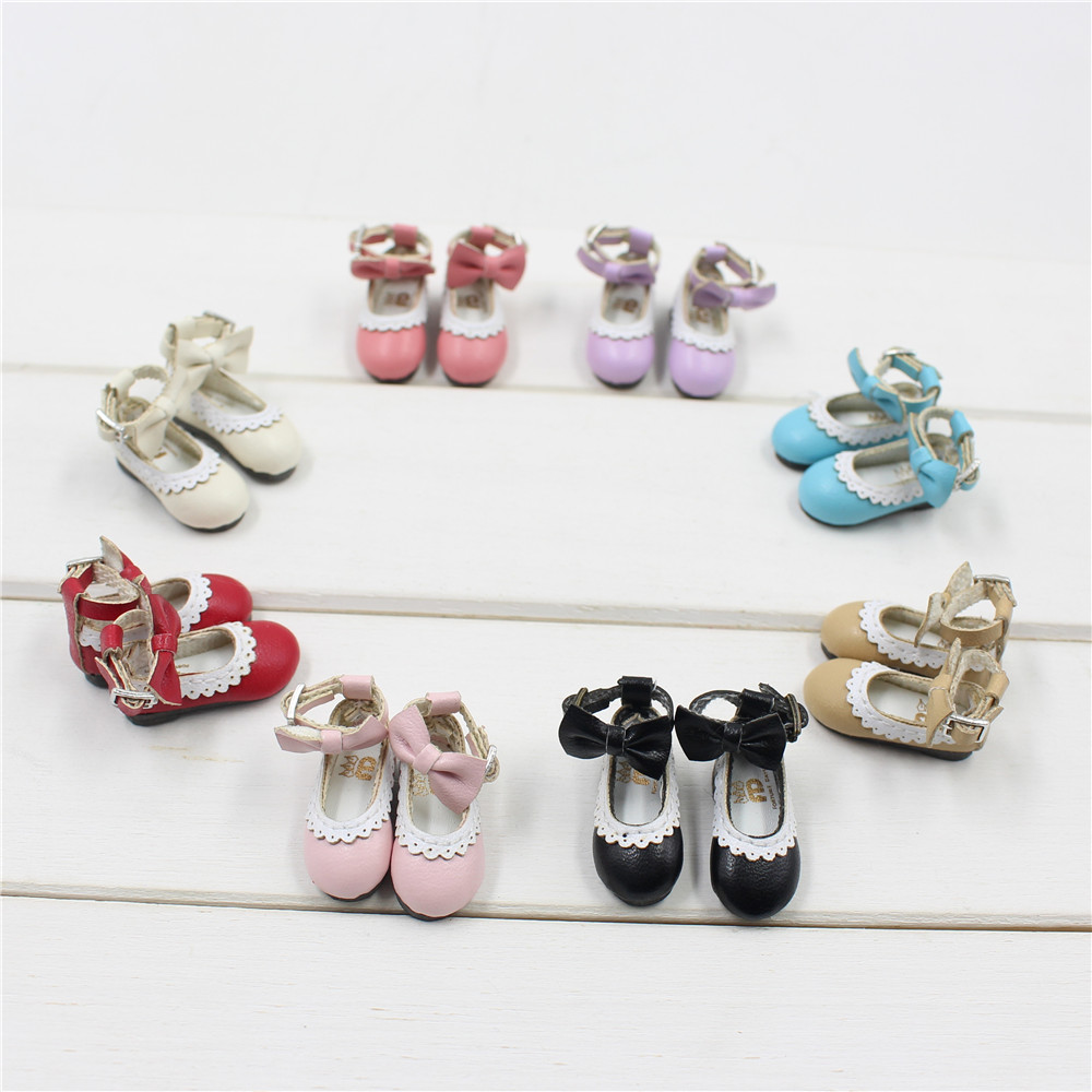 Neo Blythe Doll Designer Shoes with Bow 1