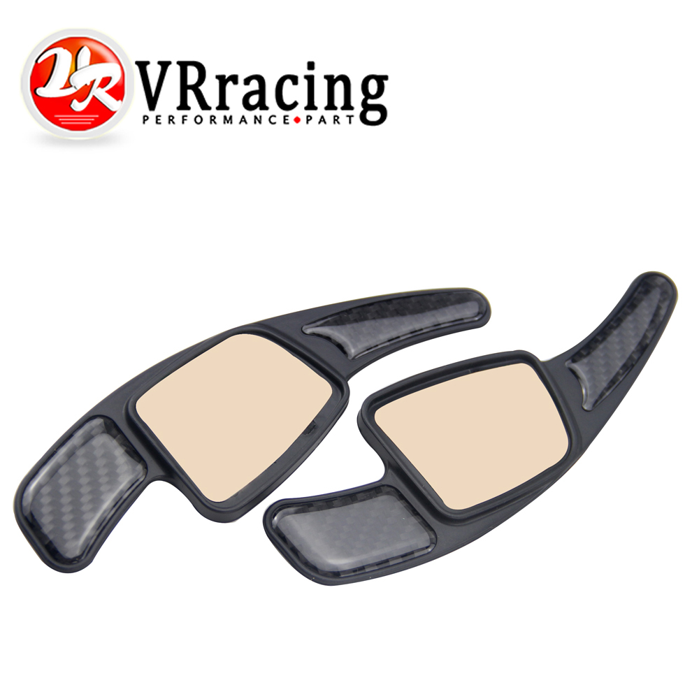 VR RACING - Car Steering Wheel Paddle Shift Paddle Shifters for Audi A4 A5 S3 S5 S6 SQ5 RS3 RS6 RS7 Q7 VR-PSD04 aluminum alloy shift paddles fashion style car steering wheel decoration accessories for e90 e3 e92 m3 e93 m3