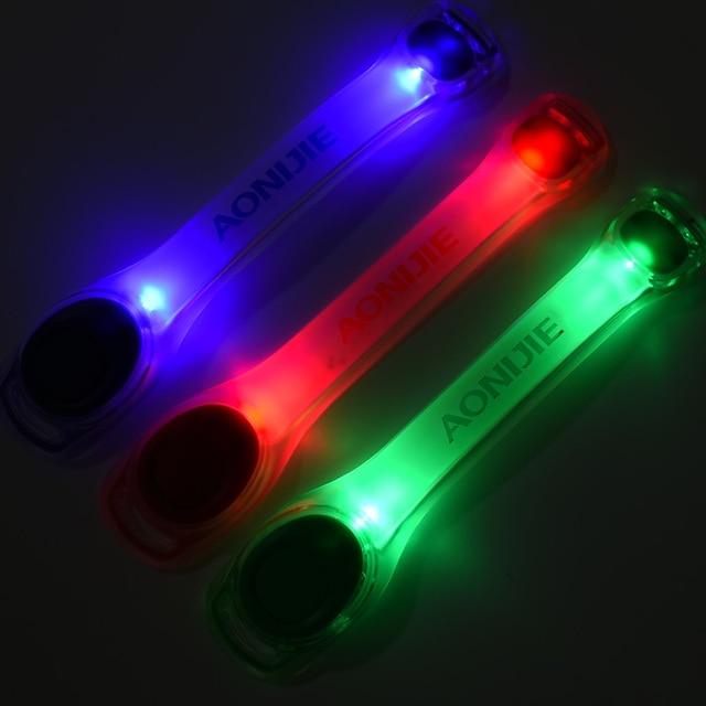 AONIJIE E4042 Night Running LED Lamp Armband Reflective Bracelet 2