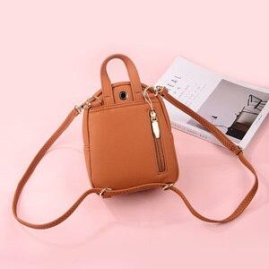 Image 4 - הדיגיטלי מעצב אופנה נשים תרמיל רך עור נשי קטן תרמילי גבירותיי כתף תיק המוצ ילה חזרה חבילה 2020 Bagpack