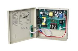 Image 2 - תמיכת אספקת חשמל טלוויזיה במעגל סגור 4 ערוץ DC12V 3A UPS תיבת ROHS CE הסוללה למצלמת טלוויזיה במעגל סגור