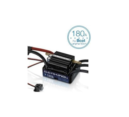 Hobbywing SeaKing V3 Waterproof 30A 60A 120A 180A 2 6S Lipo Speed Controller 6V BEC Brushless