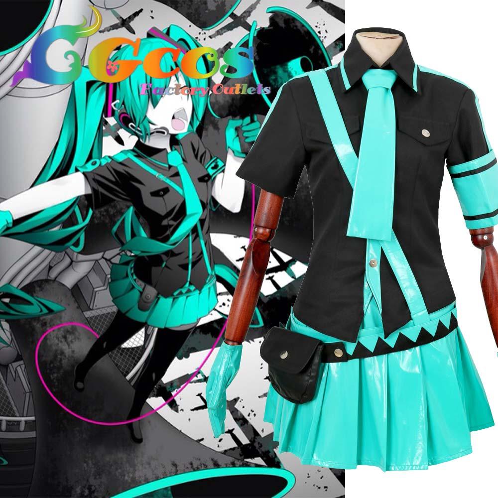 CGCOS 무료 배송 코스프레 의상 Vocaloid 여고 선전 - 캐릭터의상
